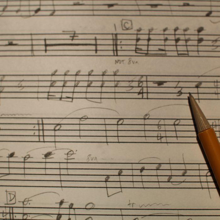 Gašper Jereb: Tri pesmi za visoki glas in klavir