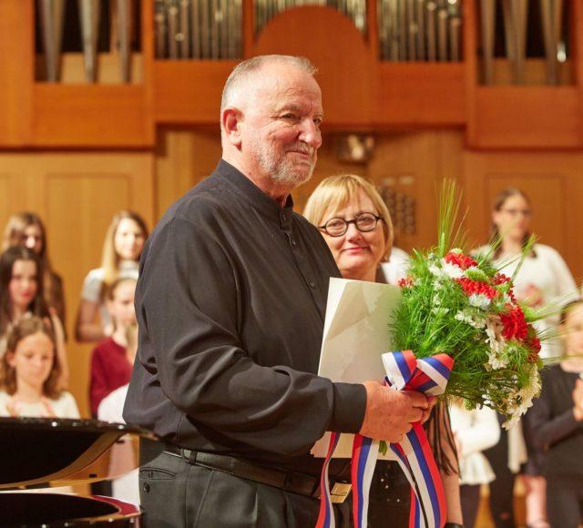 Imenovanje dirigenta Tomaža Tozona za častnega člana društva