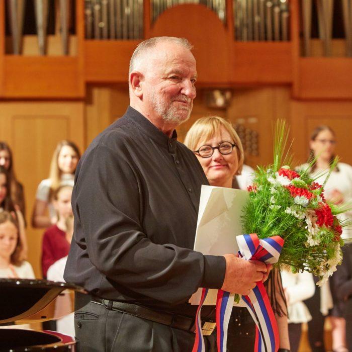 Imenovanje dirigenta Tomaža Tozona za častnega člana društa
