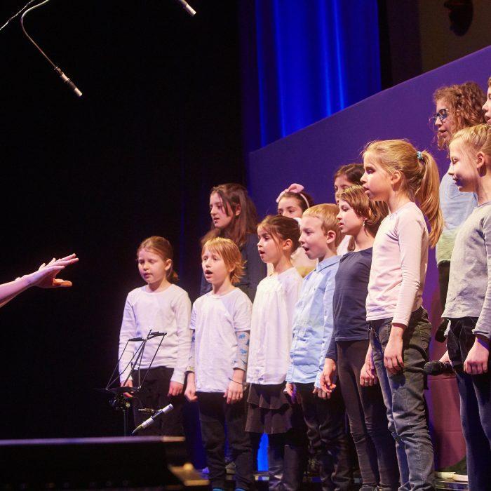 Nastop na zborovskem koncertu ob 90-letnici skladatelja Jakoba Ježa