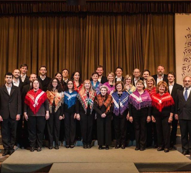 Gostovanje slovenskega pevskega zbora iz Mendoze