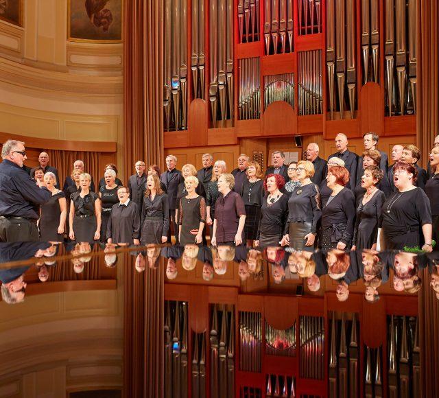 Koncert Seniorskega zbora na 203. Mozartovih družinskih dnevih