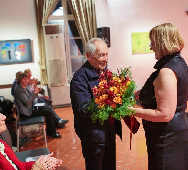 Imenovanje Henrika Neubauerja za častnega člana društva